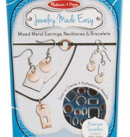 Melissa & Doug JEWELERY MADE EASY MIXED METAL EARRINGS