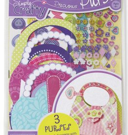 Melissa & Doug SIMPLY CRAFT PRECIOUS PURSE