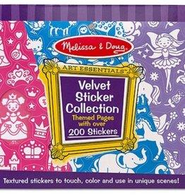 Melissa & Doug Velvet Sticker Coll. Pink
