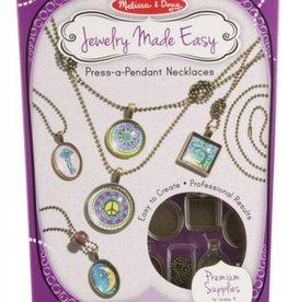 Melissa & Doug Jewelry Made Easy - Press Pendant Necklace