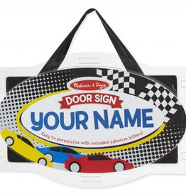 Melissa & Doug Door Plaque- Vehicles