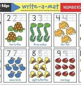 Melissa & Doug Numbers 1-10 Write a Mat