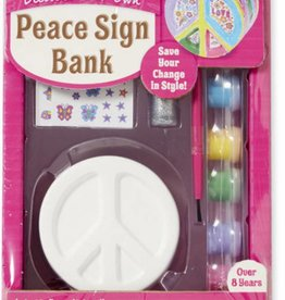 Melissa & Doug PEACE SIGN BANK