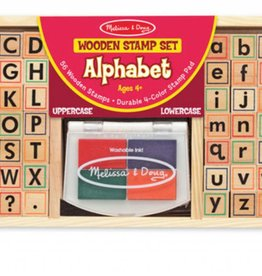 Melissa & Doug Stamp Set-Alphabet