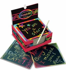 Melissa & Doug BOX OF RAINBOW MINI NOTES