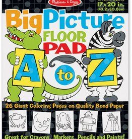 Melissa & Doug Big Picture Floor Pad, A-Z