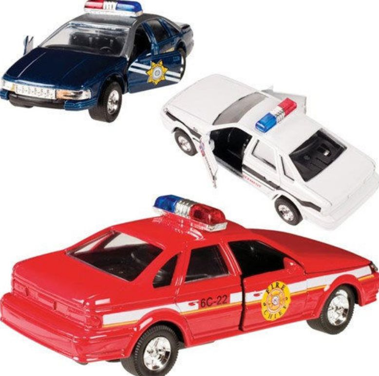 Toysmith DIECAST PULL BACK PATROL CARS - Josephs Department Store