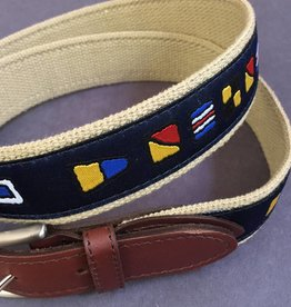 Belted Cow Company Belted Cow Leather Tab Belt - Various Styles