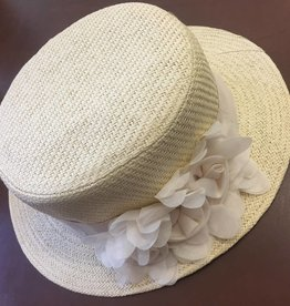 Magid Magid Natural Paper Straw Hat W/Flower