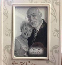 DEMDACO Demdaco 50th Anniversary Frame