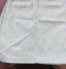 LuLu B. LULU B Skirt  Aqua paisley
