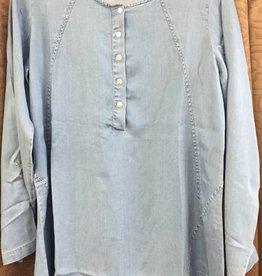 WEAVZ / TOOFAN Toofan Roll Up Sleeve Tunic