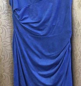 LINEA DOMANI Linea Domani Blue Knit Dress - Size 8