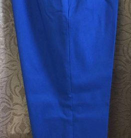 SOFT WORKS Soft Works Royal Blue Ankle Pants 75029