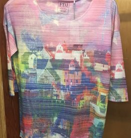 FRENCH DRESSING French Dressing Village Print Top