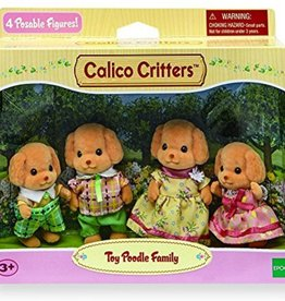 Calico Critters Calico Critters Toy Poodle Family