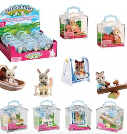 Calico Critters Calico Critters (Random) in Mini Carry Case (VARIOUS SKU'S)