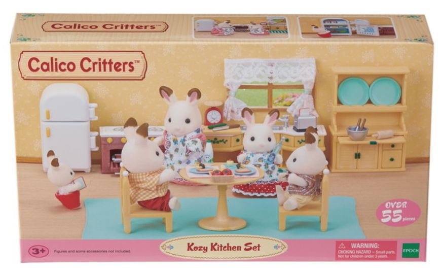calico critters calico critters kozy kitchen set - Kozy Kitchen