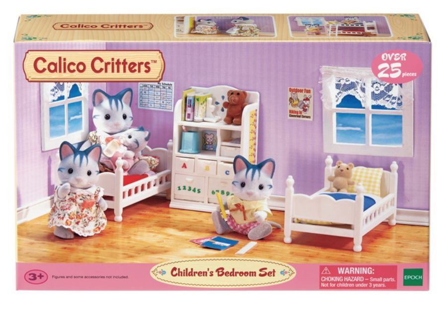 Modern Calico Critters Bedroom Set Decorating Ideas