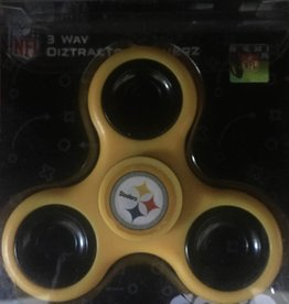 Toysmith STEELERS (3-Way) Fidget Spinner