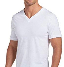JOCKEY V-Neck T-Shirt (3 Pack) White