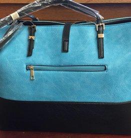 Magid Magid PU handbags B1211S-TURQ/BLK