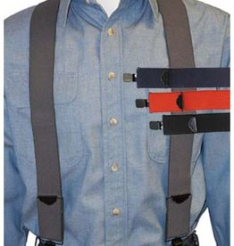 Broner Hats Broner Mainstay Solid Suspenders Asst Colors 94-229