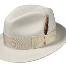 Broner Hats Broner Off White Felt Melodrama 73-388