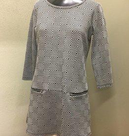 Pure Essence Pure Essence Tunic, 3/4 Sleeves 173-4438