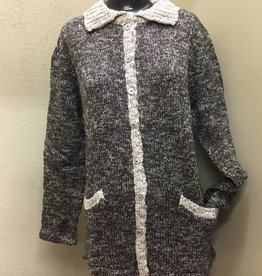 WIND RIVER Wind River Grey/ Black Pocket Coat