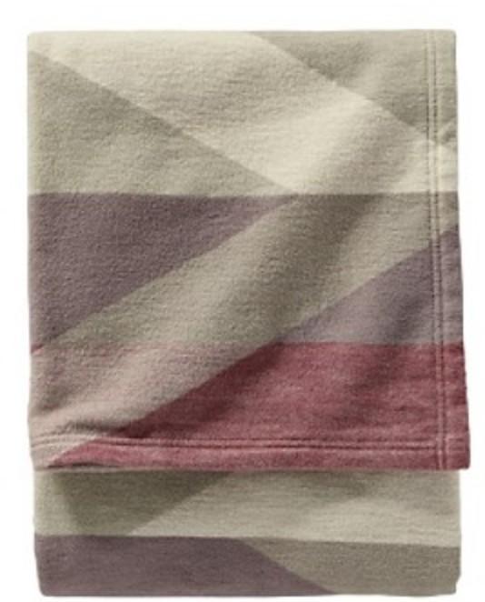 Pendleton Organic Cotton Jacquard Throw Blanket
