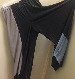 Et ' Lois Et' Lois Gena Wide Hem Color Block Trousers U9699