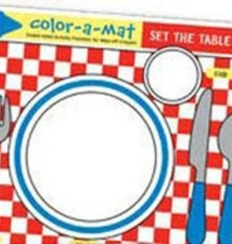 Melissa & Doug Write a Mat - Set The Table