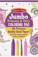 Melissa & Doug Jumbo Coloring Pad- Princess & Fairy - Josephs ...
