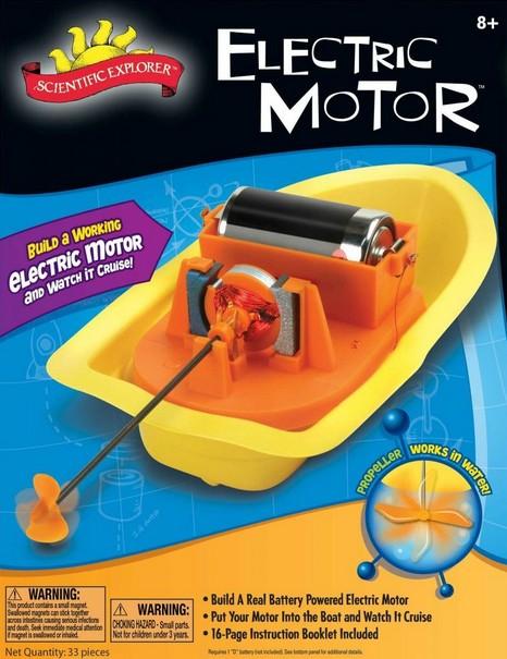 SCIENTIFIC EXPLORER - ELECTRIC MOTOR