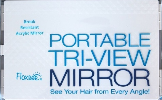 FLOXSEE PORTABLE TRI-VIEW MIRROR (Regular Price $59.99)