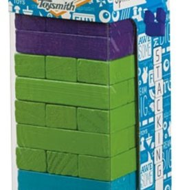 Toysmith WOODEN TOPPLING TOWERS