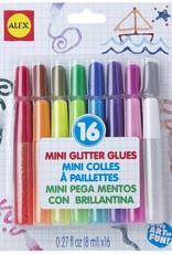 16 Pk. Glitter Glues