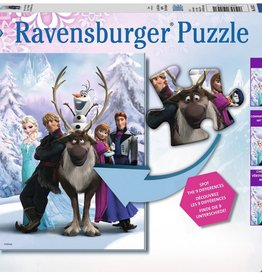 Ravensburger Disney Frozen Difference
