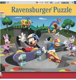Ravensburger Disney Junior Mickey & Minnie At The Skate Park