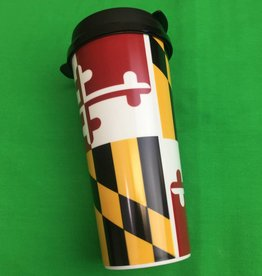 MD Flag  16 oz Coffee Tumbler