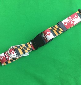 MD Flag Dog Collar