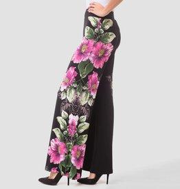 Joseph Ribkoff Joseph Ribkoff Wide Flare Floral Printed Pant