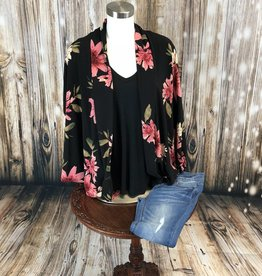 Butterfly Cacoon Kimono