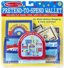 Melissa & Doug Pretend-To-Spend Wallet