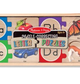 Melissa & Doug Self Correcting Letter Puzzles