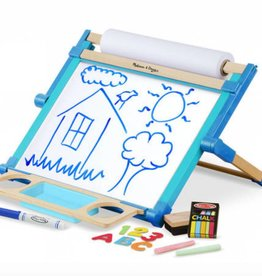Melissa & Doug Deluxe Double Sided Tabletop Easel