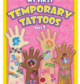 Melissa & Doug My First Temporary Tattoos - Pink Set