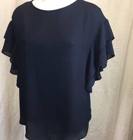 Joseph Ribkoff Joseph Ribkoff Ruffled Short Sleeve Ladies Top 181291