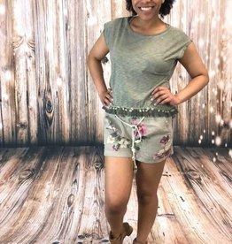 Charlie B Floral Printed Shorts